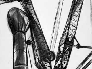 Towering Crane